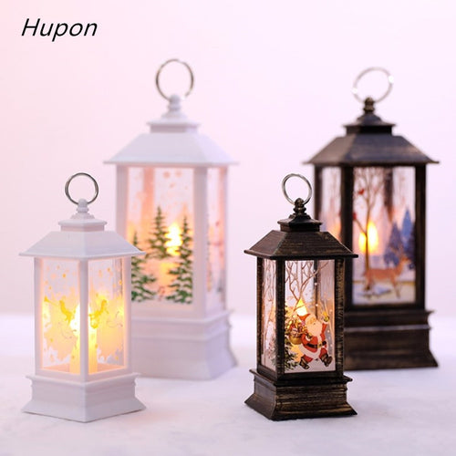 Christmas Tree Decoration Kerst Decorative Christmas Decorations for Home Led 1 pcs Christmas Candle with LED Tea light Candles