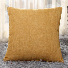 Load image into Gallery viewer, Decoration Sofa Bed Decor Decorative Pillowcase Pillow Cover 1Pcs 40*40cm Linen Throw Cushion Cover Home