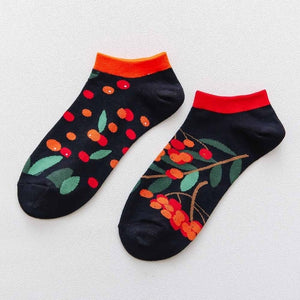 Low Cut Summer Casual Breathable Short Unisex Cool Funny Socks 1 pair Colorful Women Men's Cotton Ankle Socks Invisible