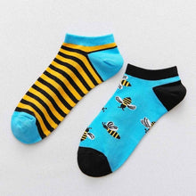 Load image into Gallery viewer, Low Cut Summer Casual Breathable Short Unisex Cool Funny Socks 1 pair Colorful Women Men's Cotton Ankle Socks Invisible