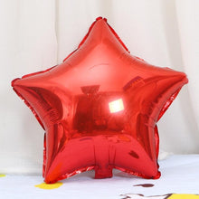 Load image into Gallery viewer, Valentines Wedding Decoration Helium Balloon Boy Girl Birthday Party Supplies 5pcs 18inch Rose Gold Red Star Heart Foil Balloons