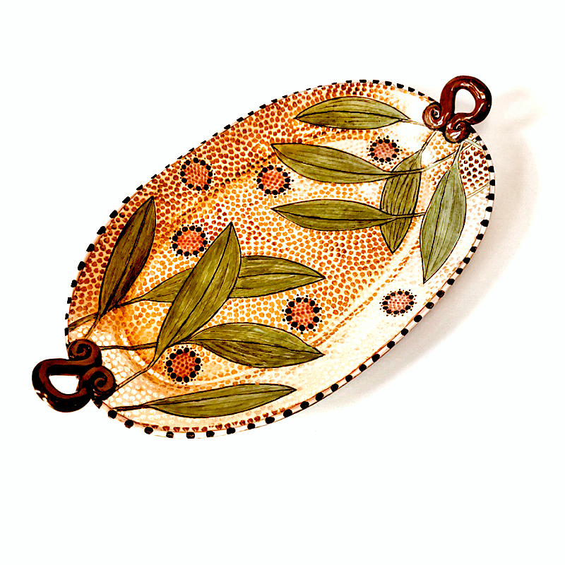 Leaves & Seeds Platter / Gail Kendall