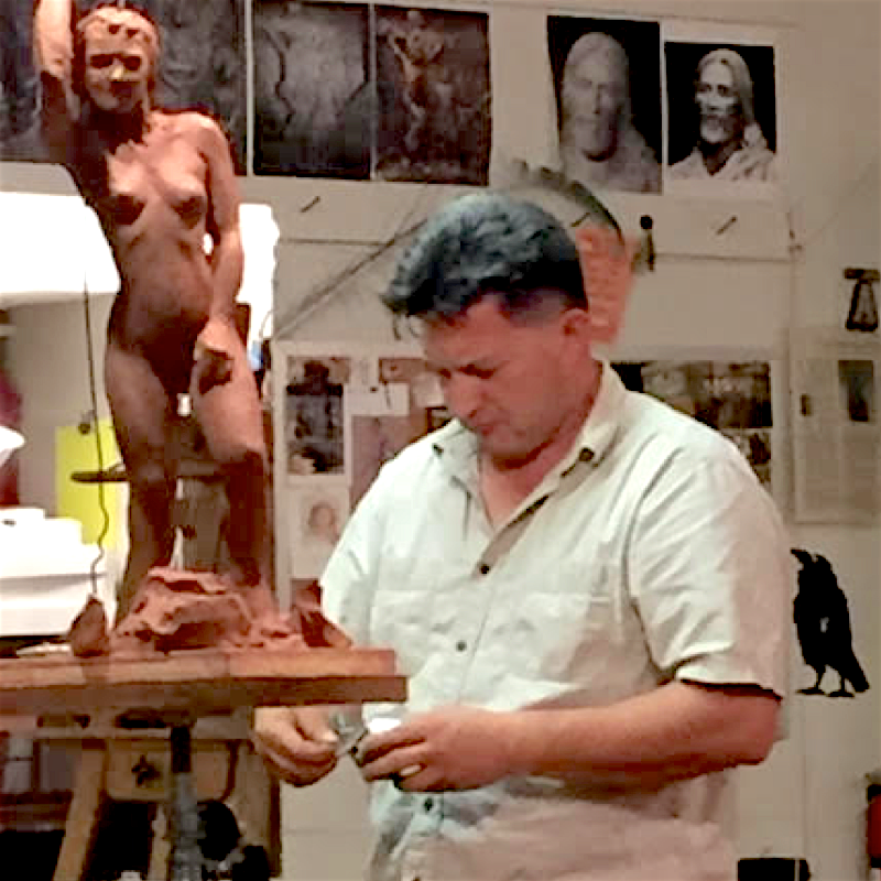 8 WKS/FRI 1:30 PM - 4:30 PM: Sculpting the Figure with Matthew Gonzales