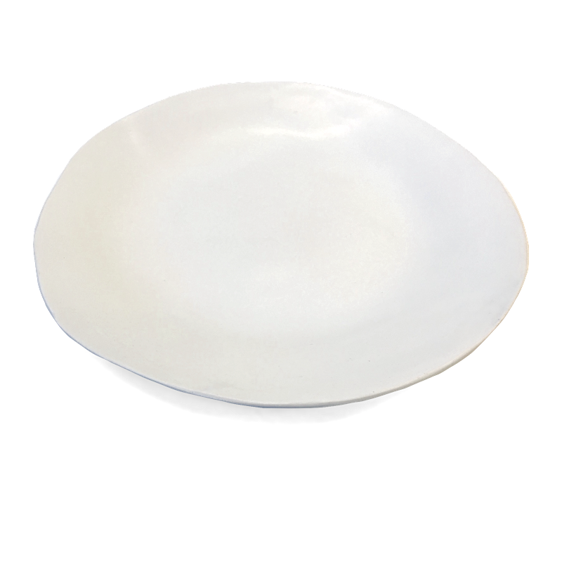 Plato / Large Round Platter / Pearl