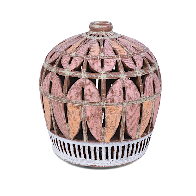 Small Pink Weed Pot / Matt Repsher