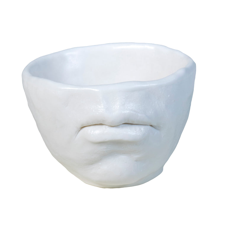 Porcelain Mouth Cup / Adrian Arleo