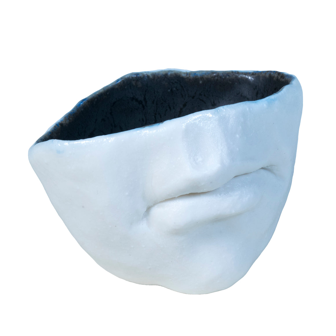 Small Porcelain Mouth Cup / Adrian Arleo