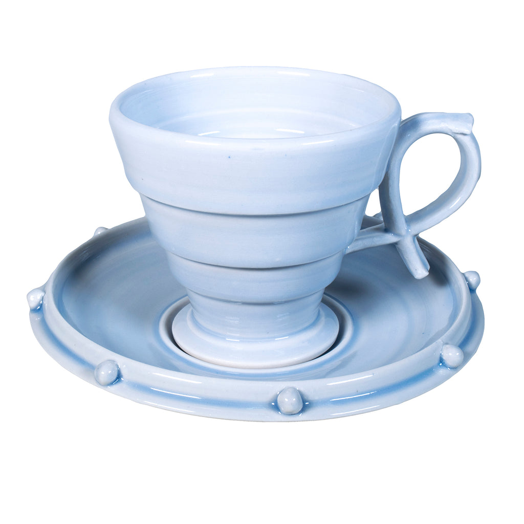 Deco Cup & Saucer / William Brouillard