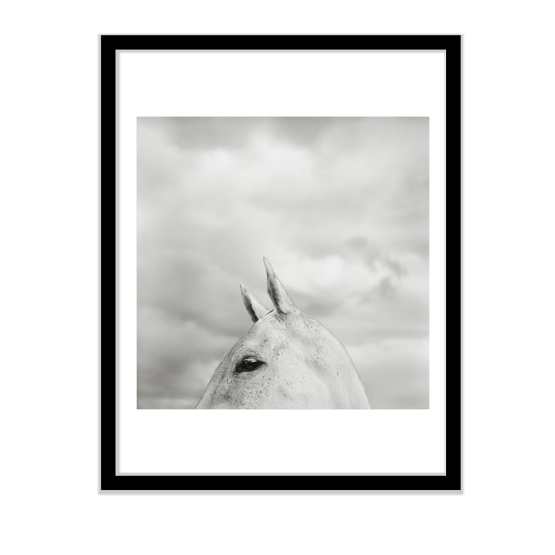 Grey in the Clouds (Framed) / Monica Stevenson