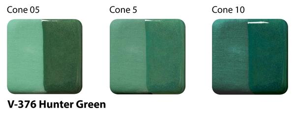 V-376 Hunter Green Velvet Underglaze