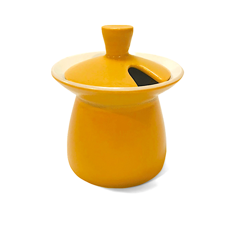 Little Chubby Condiment Pot / Yellow