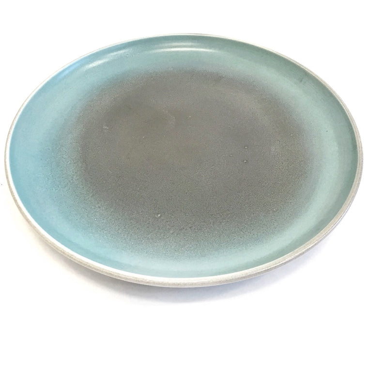 Pueblo Large Plate - Turquoise