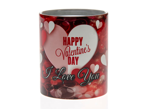 Happy Valentines Day I Love You Magic Mug