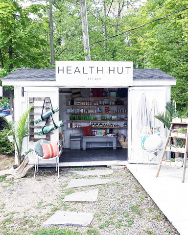Health Hut started as a literal hut on the side of the road to having multiple storefront locations and an online shop.