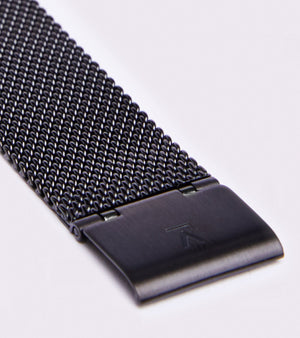 VOTCH MESH PETITE - SILVER AND BLACK WITH BLACK STRAP