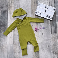 Grow Along Hooded Romper