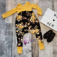 Alley Cat Romper- Long Sleeve