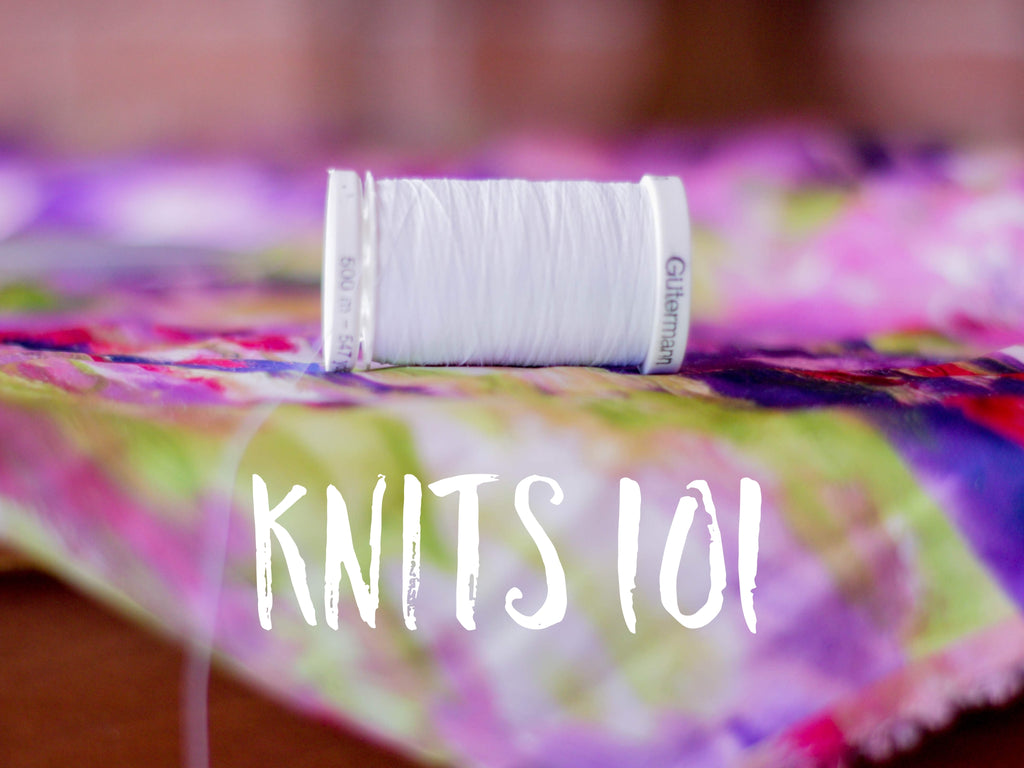 Knits 101- Weekend Workshop