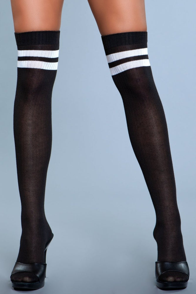 1936 Going Pro Thigh Highs Black