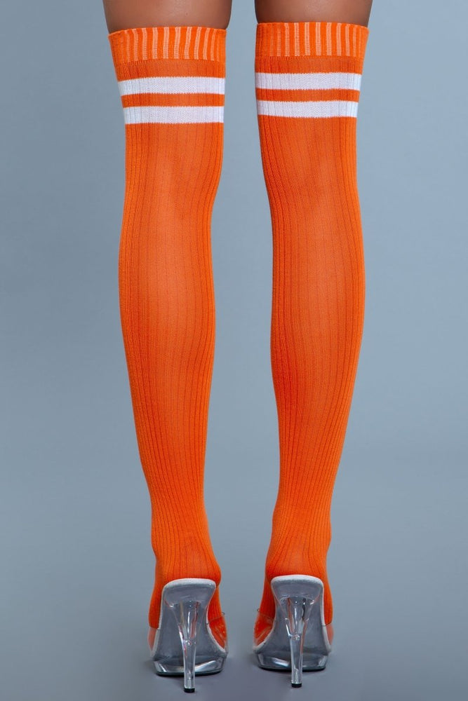 1936 Going Pro Thigh Highs Orange