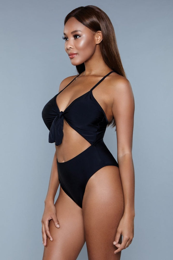 1983 Delaney Swimsuit Black