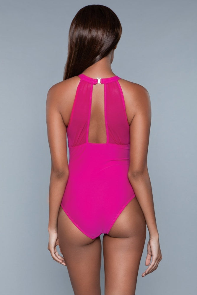 1984 Briella Swimsuit Fuchsia