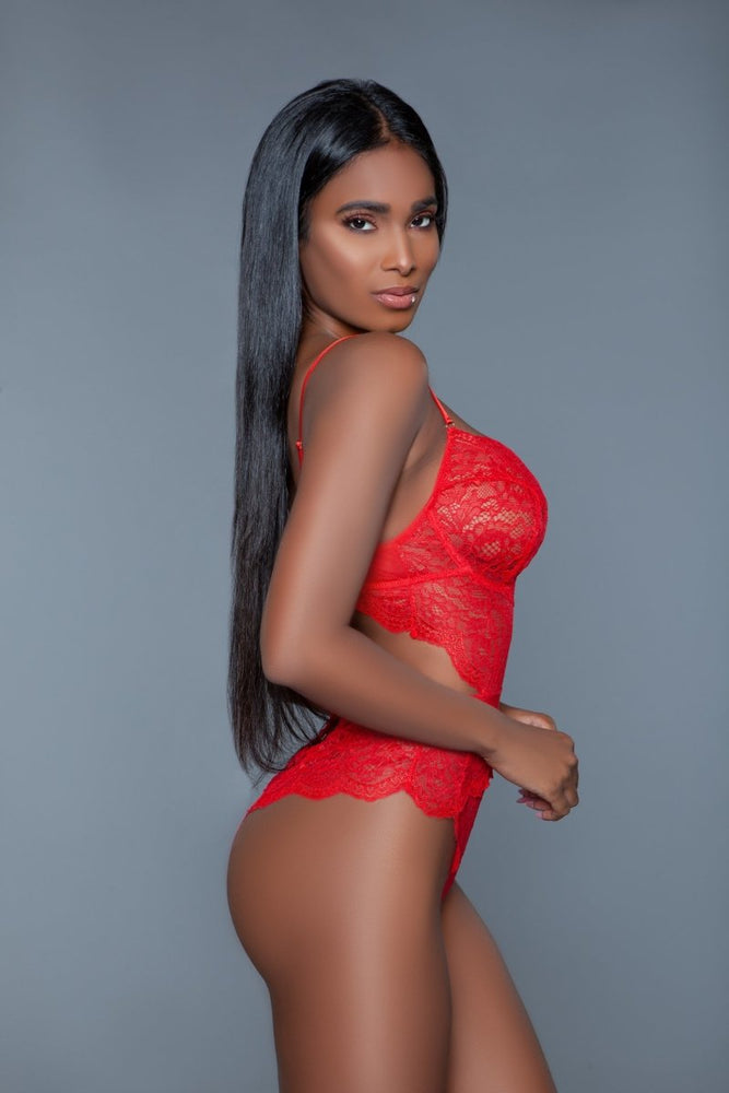 2014 Bettany Bodysuit Red