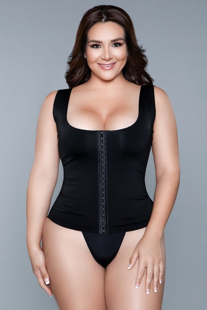2041 Miraculous Shapewear Top Black
