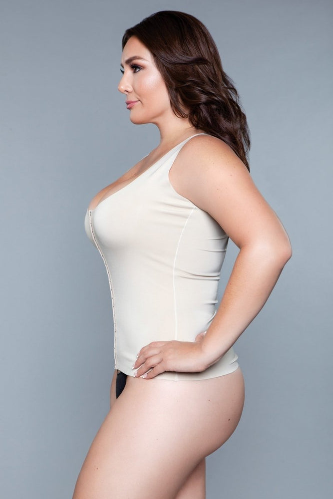 2041 Miraculous Shapewear Top Nude
