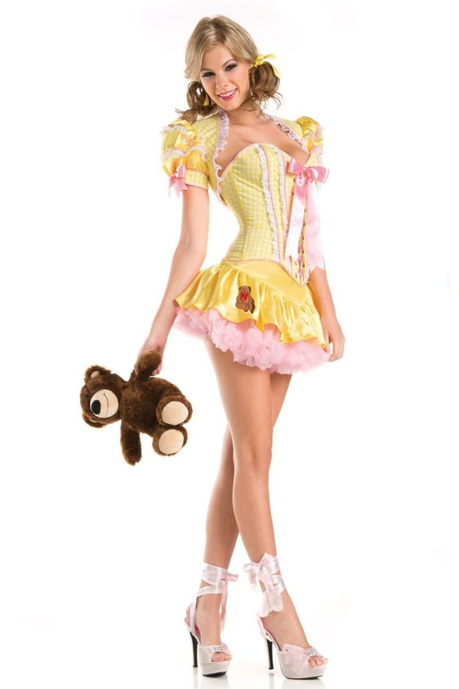 BW1426C 4 Piece Sexy Goldie Costume