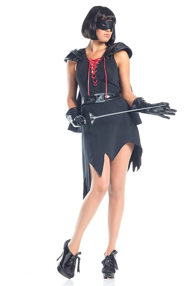 BW1558 8 Piece Enticing Bandit Costume