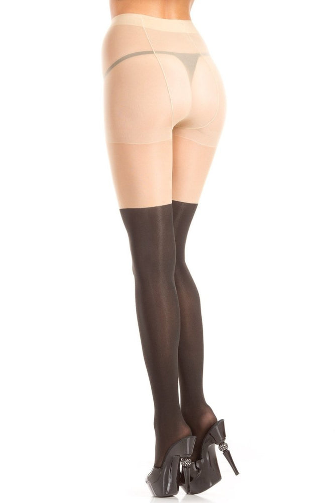 BW408 Bow Kitty Pantyhose