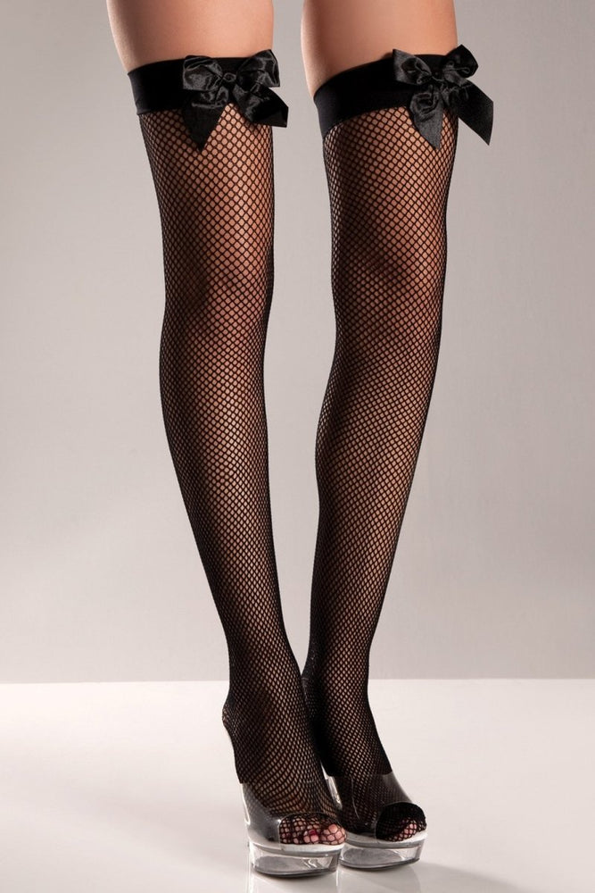 BW509 Pretty As A Bow Thigh Highs