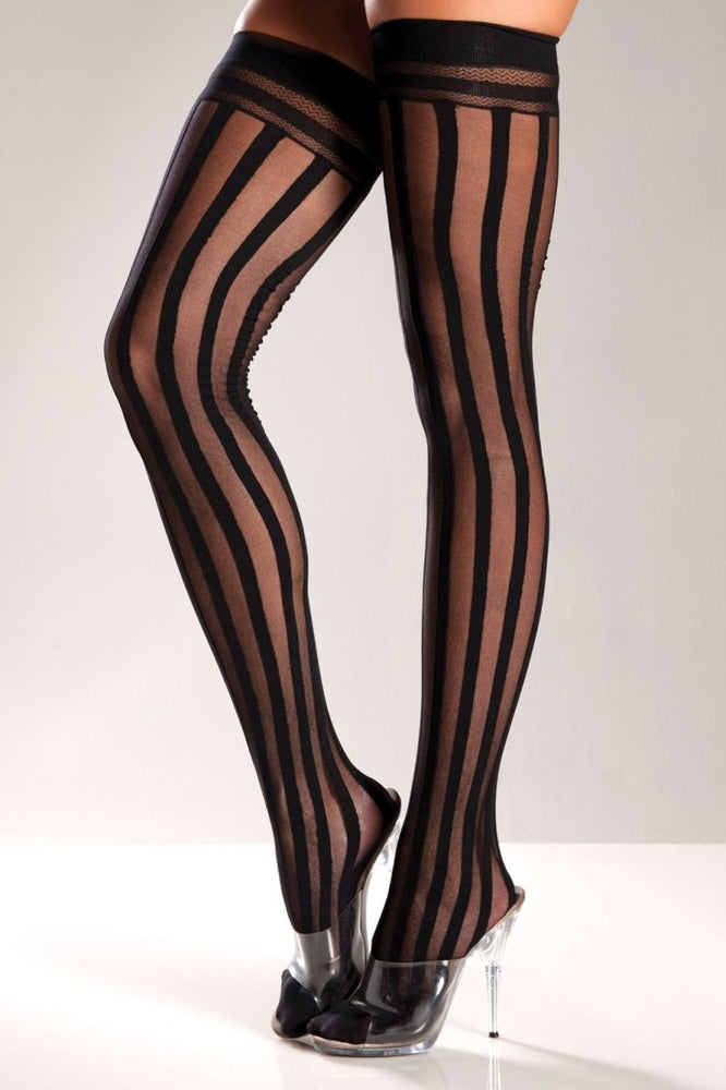 BW575 Burlesque Thigh Highs
