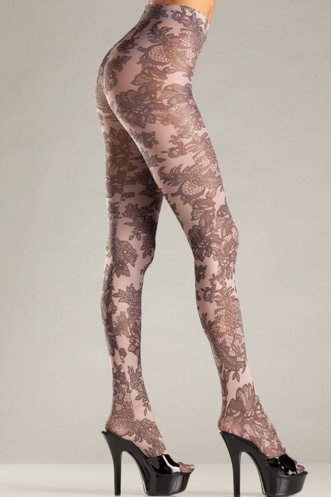 BW682N Floral Dream Pantyhose