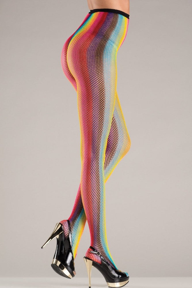BW748 Pantyhose Rainbow Stripes