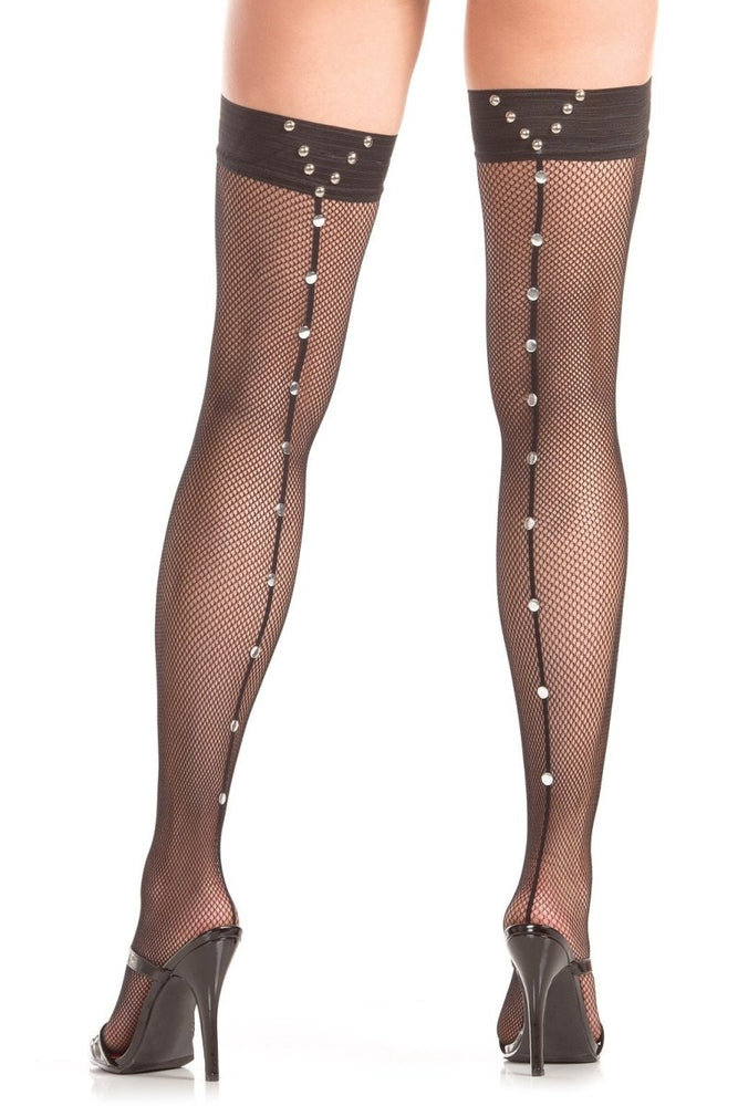 BW785 Bling Bling Thigh Highs