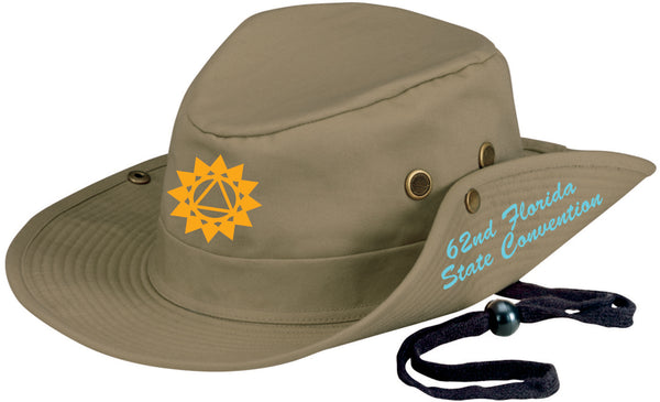 Embroidered Outback Hat