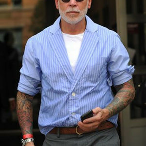Street Style Inspiration - Nick Wooster