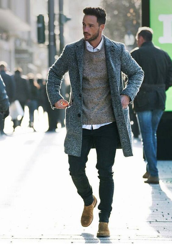 5 Cool winter outfits for men. #winter #street #style #mens #fashion