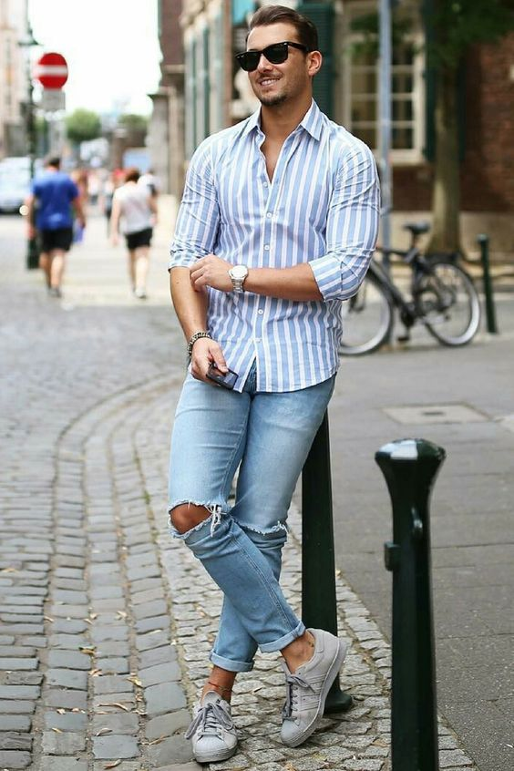 10 coolest ripped jeans outfit ideas for men � ps1983