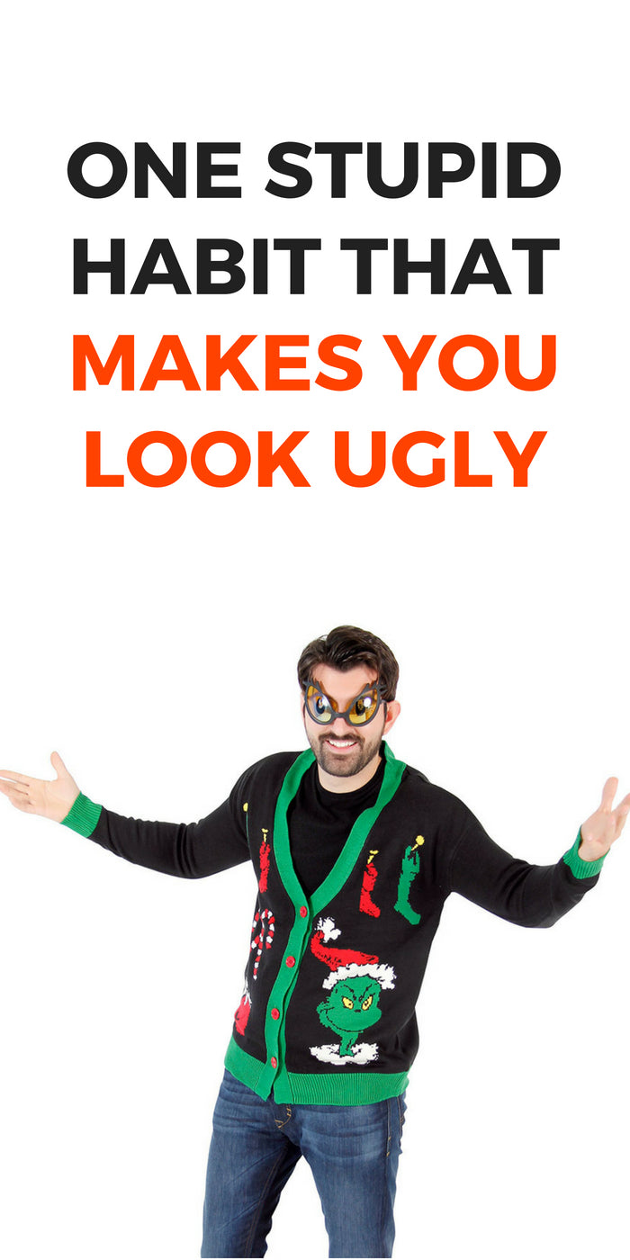 ONE STUPID HABIT THAT MAKES YOU LOOK UGLY #fashion #tips #mens #fashion #style #mistakes