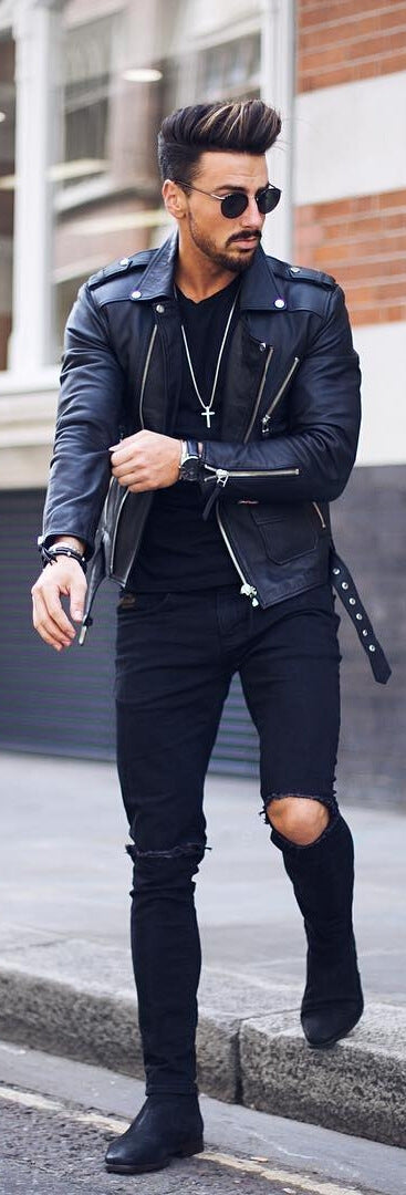 Leather Jacket Outfit Ideas How To Wear Jackets For Men Ps1983