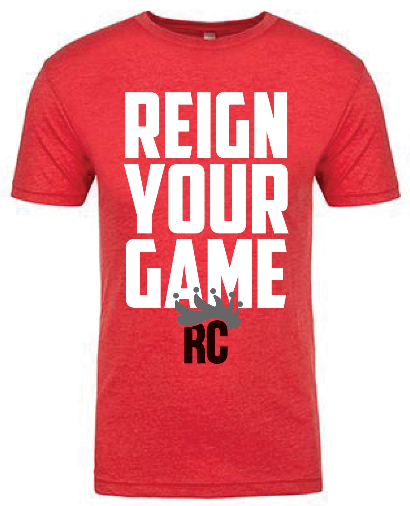 Reign Your Game Tee - Vintage Red