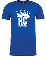 RC Crown SS Tee- Vintage Blue