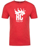 RC Crown Tee - Vintage Red