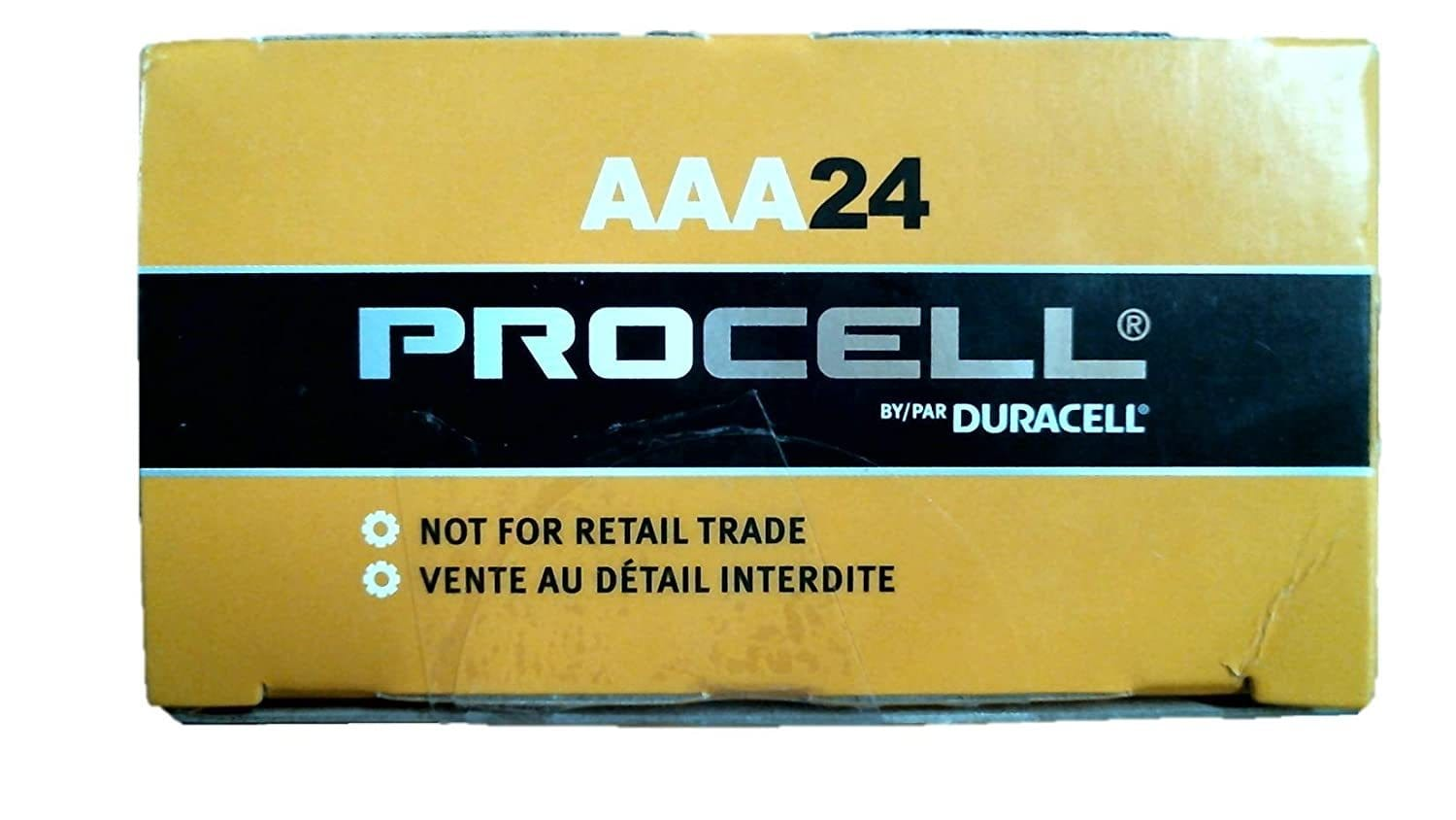 Duracell 24 count Procell AAA Batteries