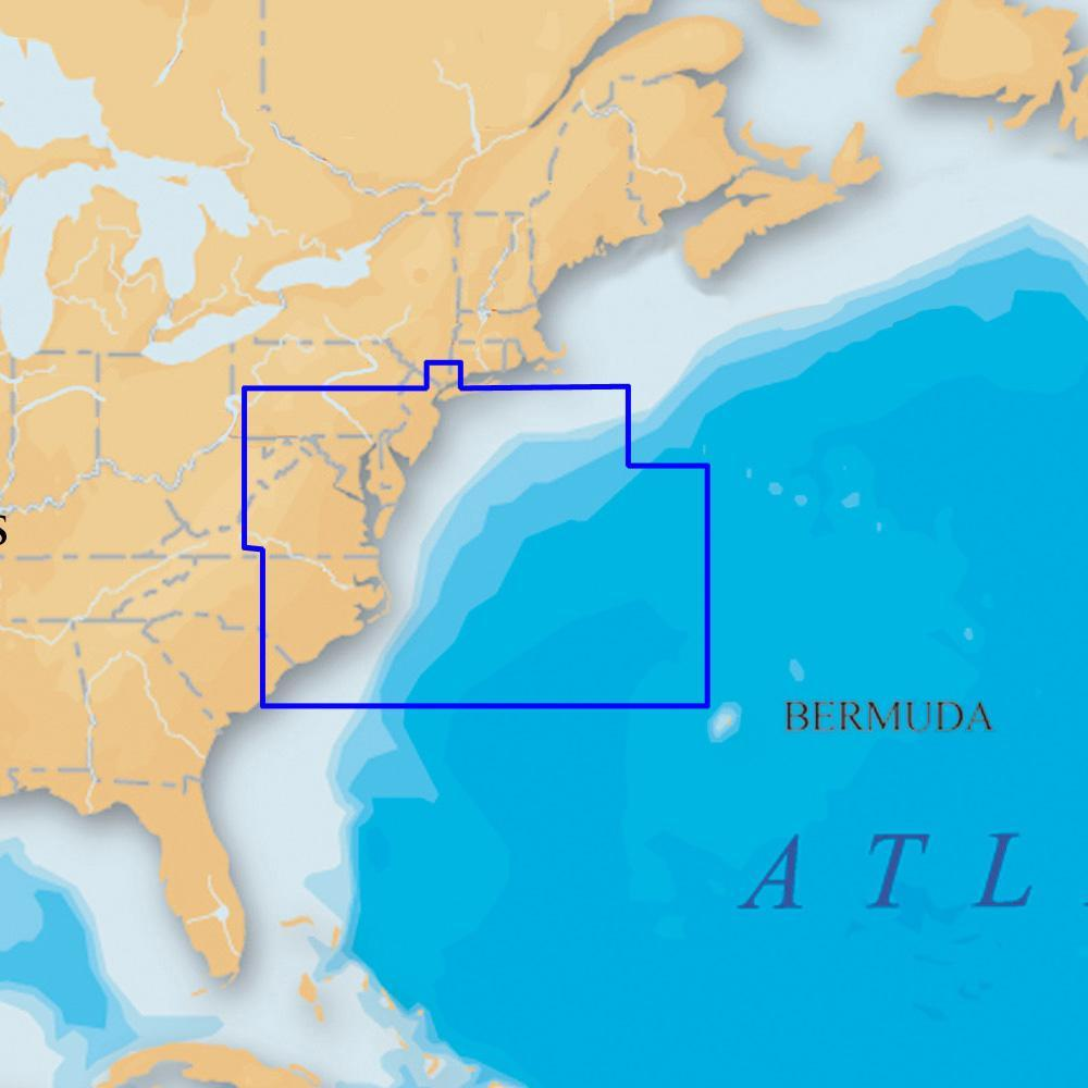 Navionics Platinum+ - US Mid Atlantic and Canyons microSD™-SD™