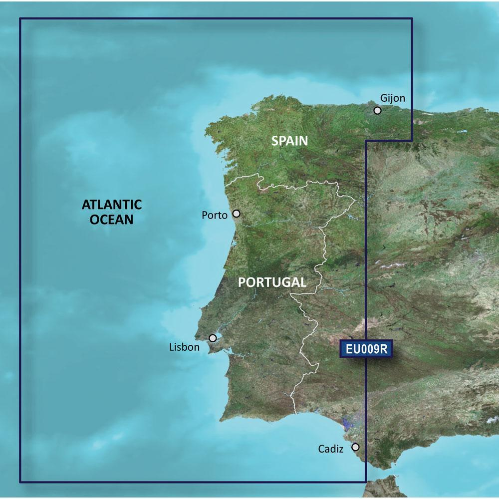 Garmin BlueChart® g2 HD - HXEU009R - Portugal & Northwest Spain - microSD™-SD™