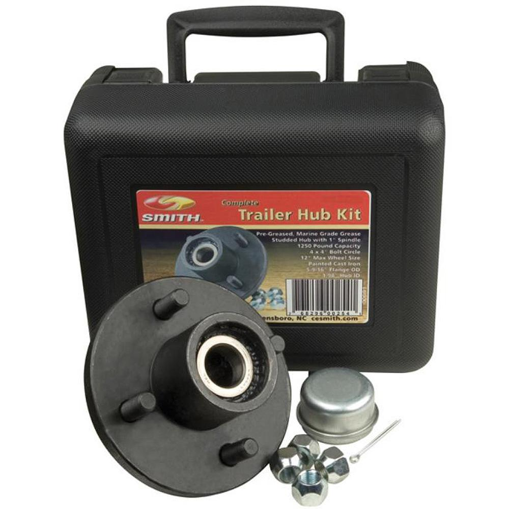 "C.E. Smith Trailer Hub Kit Package 1-1-16"" Stud 4 x 4"